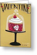Be Mine Valentine Greeting Card by Catherine Holman