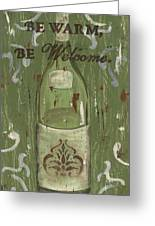 Be Our Guest Greeting Card by Debbie DeWitt