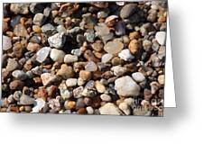 Beach Agates Greeting Card by Carol Groenen
