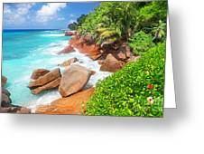 Beach Beauty Greeting Card by Boon Mee
