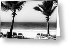 Beach Framing Greeting Card by John Rizzuto