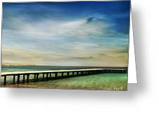 Beach Greeting Card by Jelena Jovanovic