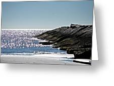 Beach Jetty Greeting Card by John Collins
