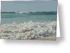 Beach Love Greeting Card by Sharon Mau
