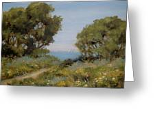 Beach Path #2 Greeting Card by Tina Obrien