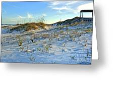 Beach Stairs Greeting Card by Michelle Wiarda