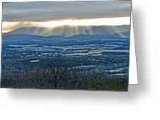 Beaming March Shenandoah Greeting Card by Lara Ellis