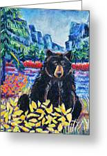 Bear By The Lake Greeting Card by Harriet Peck Taylor