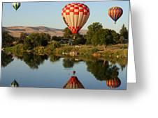 Beautiful Balloon Day Greeting Card by Carol Groenen