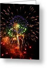 Beautiful Fireworks Works Greeting Card by Kim Pate