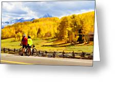 Beautiful Rest Stop Greeting Card by Rick Wicker