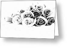 Beautiful Roses Greeting Card by Subesh Gupta