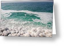 Beautiful Sea Salt Greeting Card by Boon Mee