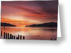 Beautiful Sunrise Greeting Card by Colin and Linda McKie