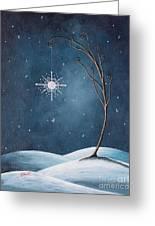 Beautiful Winterland By Shawna Erback Greeting Card by Shawna Erback