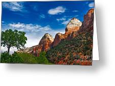 Beautiful Zion Greeting Card by Robert Bales