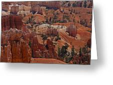 Beauty Of Bryce Greeting Card by Kimberly Oegerle