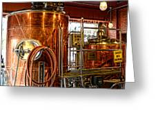 Beer - The Brew Kettle Greeting Card by Paul Ward