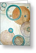 Belief In Circles Greeting Card by Debi Starr