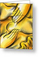 Belief Greeting Card by Leon Zernitsky