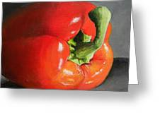 Bell Pepper Mini Greeting Card by Steve Goad