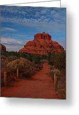 Bell Rock Greeting Card by James Peterson