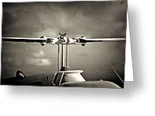 Bell Rotor Greeting Card by Patrick M Lynch