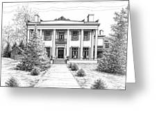 Belle Meade Plantation Greeting Card by Janet King