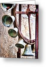 Bells In Sicily Greeting Card by David Smith