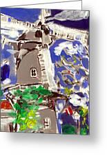 Beltman's Windmill Greeting Card by Samuel Zylstra