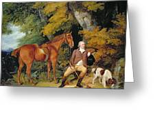 Benjamin Bond Hopkins, Before 1791 Greeting Card by Francis Wheatley