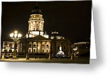Berlin Gendarmenmarkt Greeting Card by Frank Tschakert