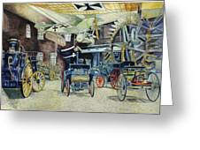 Berlin Transport And Technology Museum Greeting Card by Leisa Shannon Corbett
