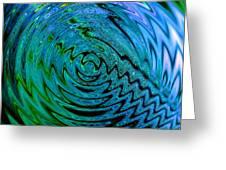 Bermuda Blue Greeting Card by Michael Durst