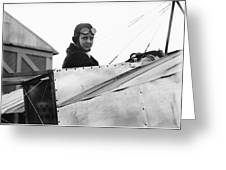 Bernetta Miller, Us Aviator Greeting Card by Science Photo Library