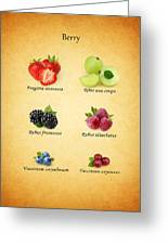 Berry Greeting Card by Mark Rogan