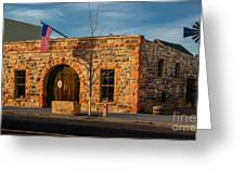 Berthoud Museum Greeting Card by Jon Burch Photography