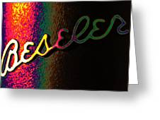 Beseler Signature Greeting Card by Richard Reeve