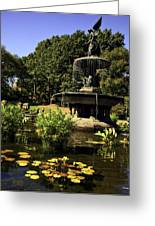 Bethesda Fountain - Central Park 2 Greeting Card by Madeline Ellis