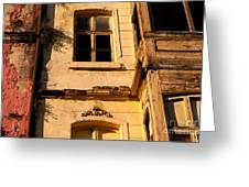 Beyoglu Old House 01 Greeting Card by Rick Piper Photography