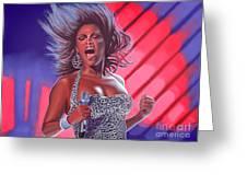 Beyonce Greeting Card by Paul  Meijering