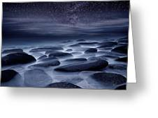 Beyond our Imagination Greeting Card by Jorge Maia