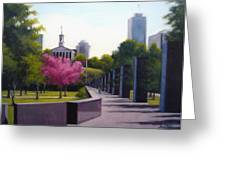 Bicentennial Capital Mall Park Greeting Card by Janet King