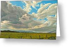 Big Sky Greeting Card by Paul Krapf