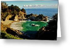 Big Sur Greeting Card by Benjamin Yeager