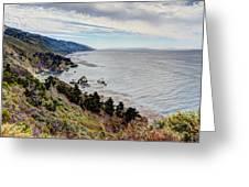 Big Sur Serenity  Greeting Card by Heidi Smith