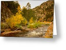 Big Thompson River 10 Greeting Card by Jon Burch Photography