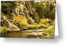 Big Thompson River 5 Greeting Card by Jon Burch Photography
