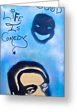 Bill Cosby Greeting Card by Tony B Conscious