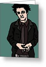 Billie Joe Armstrong Greeting Card by Jera Sky